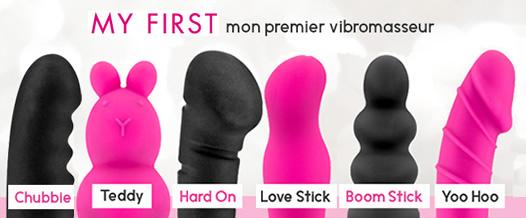 Premier vibromasseur idéal: my first